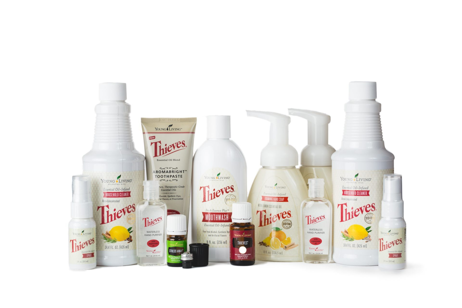 Young Living Thieves Starter Kit Essential Oily Life