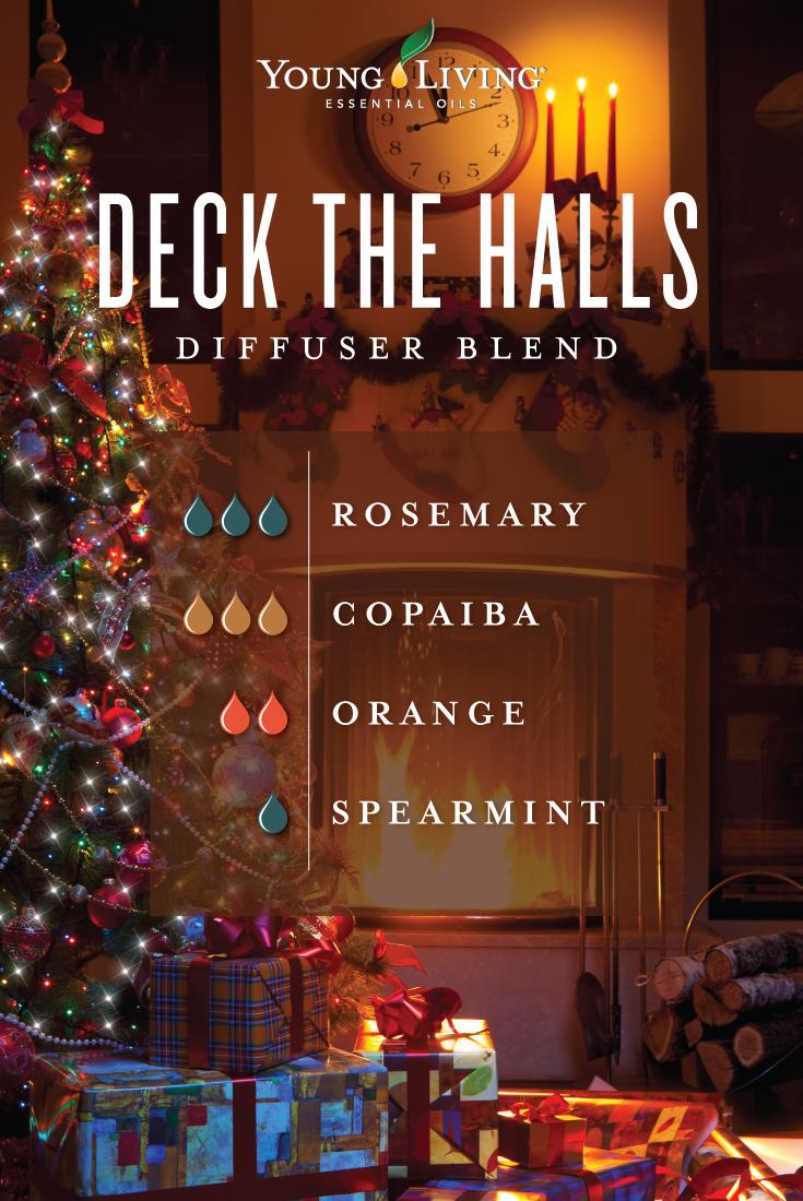 Deck the Halls diffuser blend