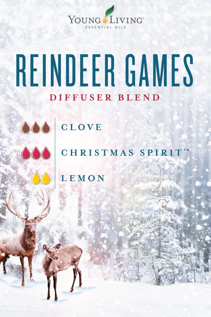 Reindeer Games diffuser blend