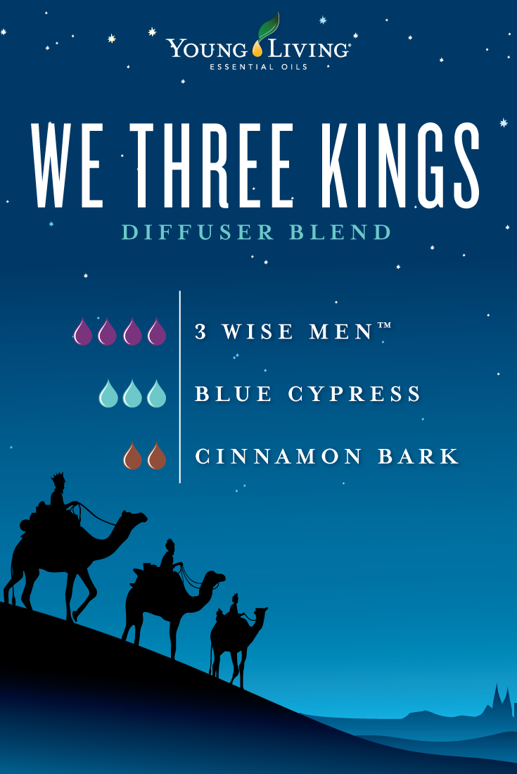 We Three Kings diffuser blend