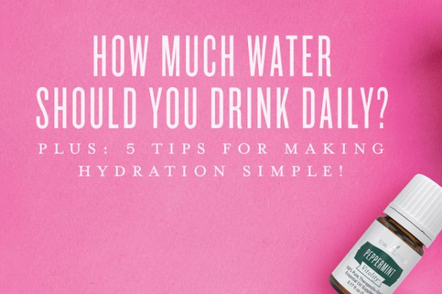 How much water should you drink daily?
