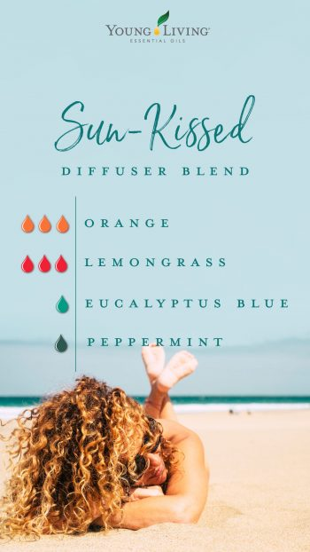 sun kissed diffuser blend