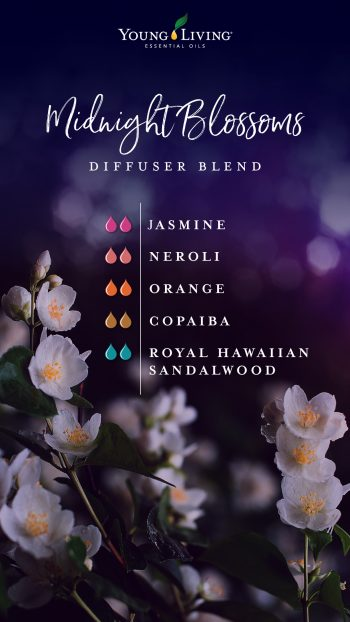 Midnight blossoms diffuser blend