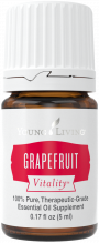 bottle of Grapefruit Vitality essential oil