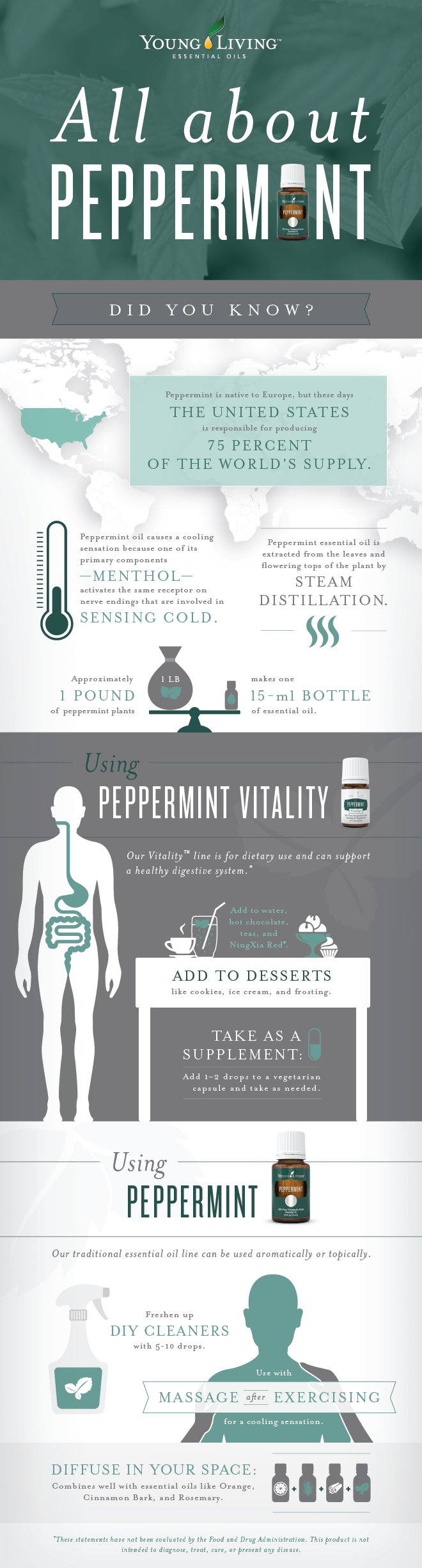 how to use peppermint essential oil for headaches